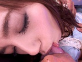 Teen Aino Kishi Rides A Cock For Us In Hot POV Action picture 11