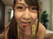 Hitomi Kitagawa fucks in her glasses