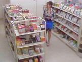 Asami Ogawa fucks for the shop's camera picture 3
