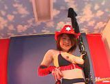 Kokoro Miyauchi Rides A Big Dildo While In Costume picture 13