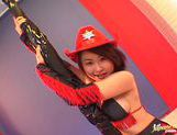 Kokoro Miyauchi Rides A Big Dildo While In Costume picture 8