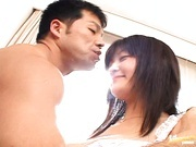 Japanese Model Eats The Cum From Her Creamed Pussy