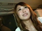 Sae Aihara Japanese model gets cum on her nice tits