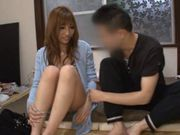 Suzuka Miura gets her pussy drilled by cock