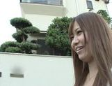 Asian teen Kazuho Mukai gets those big tits rocking with a rough fuck picture 3