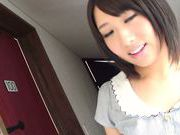Busty teen Himari Wakana pleases horny client