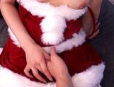X-mas time special fucking for Akiho Yoshizawa in her santa costume picture 14