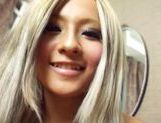 Runa Asahi goes for a ride and gets creampied in POV
