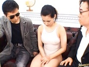 Maria Ozawa Japanese model gets her pussy and tits fondled