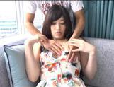 Japanese AV Model is a horny chick in amateur hardcore action picture 11