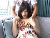 Japanese AV Model is a horny chick in amateur hardcore action picture 15