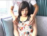 Japanese AV Model is a horny chick in amateur hardcore action
