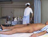 Miyu Akimoto Does Her Nurse Duty By Sucking Him Off picture 11