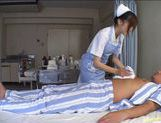 Miyu Akimoto Does Her Nurse Duty By Sucking Him Off picture 1