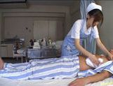 Miyu Akimoto Does Her Nurse Duty By Sucking Him Off