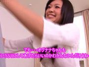 Lovely Nana Ogura wild pussy stimulation and ass licking