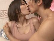 Skinny teen Anna Ousaka is teased and fucked doggystyle