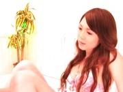 Petite cutie Shiori Hazuki sucks and fucks hard!