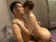 Yui Akane rides cock like crazy
