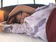 Peachy AV hottie Kirara Asuka teased by toys gets plowed