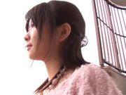 Nice teen Ruri Nanasawa hot shaved pussy solo girl