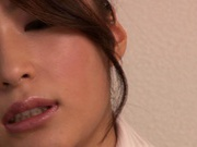 Hard Fucking At The Office With Risa Kotani In Stockings