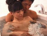 Aino Kishi ends up with cum all over her face! picture 4