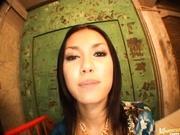 Maria Ozawa receives a nasty facial