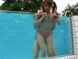 Hitomi Kitagawa fucking in bikini
