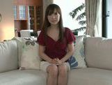 Masturbating MILF Moe Ohishi Gets Off In Front Of The Camera picture 11