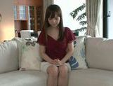 Masturbating MILF Moe Ohishi Gets Off In Front Of The Camera picture 12