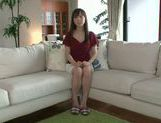 Masturbating MILF Moe Ohishi Gets Off In Front Of The Camera