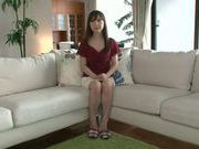 Masturbating MILF Moe Ohishi Gets Off In Front Of The Camera