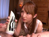 Male Sex Toy Gets Tested On Him By Handjobbing Miku Ohashi