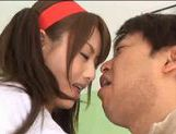 Japanese model drilled by hard cock picture 14