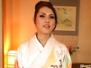 Hottest milf ever Maria Ozawa sucks and fucks in her room.