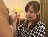 Kaori Sakura In Stockings Fucks For A Creampie picture 3