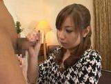 Kaori Sakura In Stockings Fucks For A Creampie picture 4