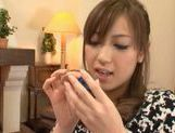 Kaori Sakura In Stockings Fucks For A Creampie picture 6