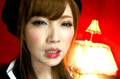 Rina Kato Gets Two Facials From A Double Blowjob
