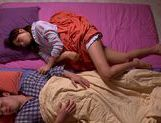 Saki Ayano Wakes A Guy Up To Ride Him All Night picture 14
