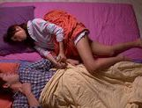 Saki Ayano Wakes A Guy Up To Ride Him All Night picture 15
