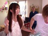 Saki Ayano Wakes A Guy Up To Ride Him All Night picture 7