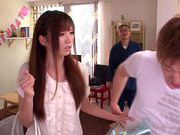 Saki Ayano Wakes A Guy Up To Ride Him All Night