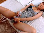 Kanon Imai gets her pussy hammered by a dildoasian women, young asian}