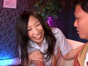 MILF Ryoko Murakami Gives Head In A Nurse's Uniform