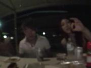Tag Team Blowjob With Kirara Asuka And A Friend Sharing Cum