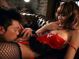 Kirara Asuka in really hot sexy lingerie fucking hard!