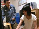 Short-haired Japanese teen relieves her strong sexual tension picture 9