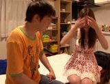 Sexy Japanese girl Yui Tatsumi makes steamy sex